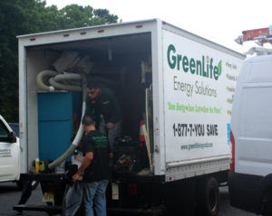 greenlife energy solutions, truck, hvac, insulation, about, about us