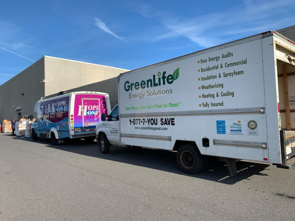 greenlife energy solutions, about us, about, truck, vehicle, outreach